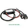 DC converter 12V to 5V 3A - Micro USB