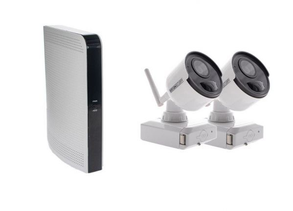 Cable-free security camera (B) set EASY 2