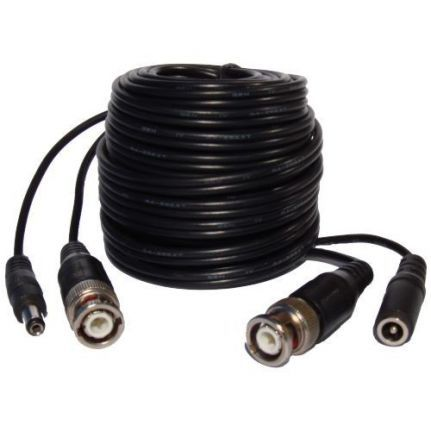 BNC video / power cable - 10 Mtr