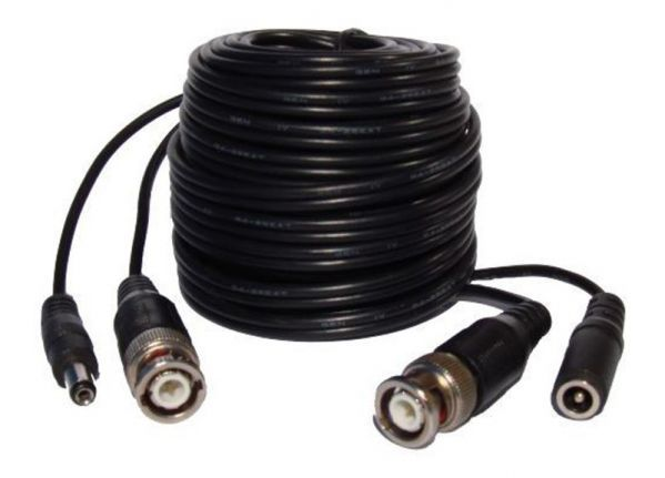 BNC video / power cable - 5 Mtr