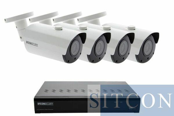 Bullet security camera set ELITE 4