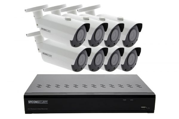Bullet security camera set ELITE 5