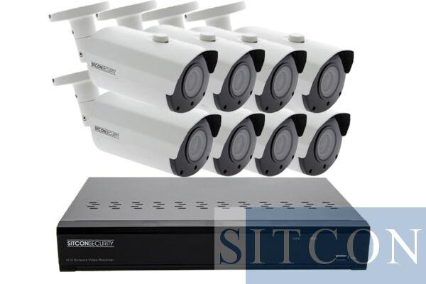 Bullet security camera set ELITE 8