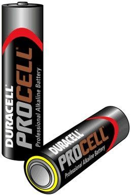 AAA battery - Duracell Pro line (2 x)