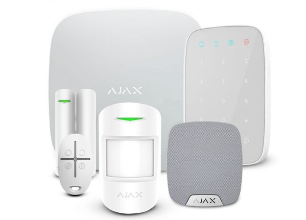 Wireless alarm system Complete White SMART