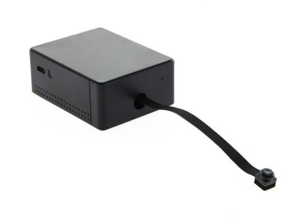 Black box Wi-Fi spy cam PLUS