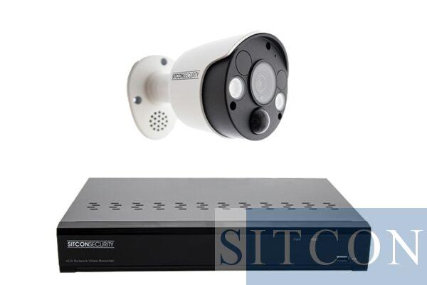 Shock lamp security camera set SMART 1
