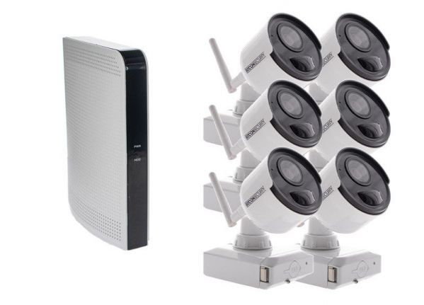 Cable-free security camera (B) set EASY 6
