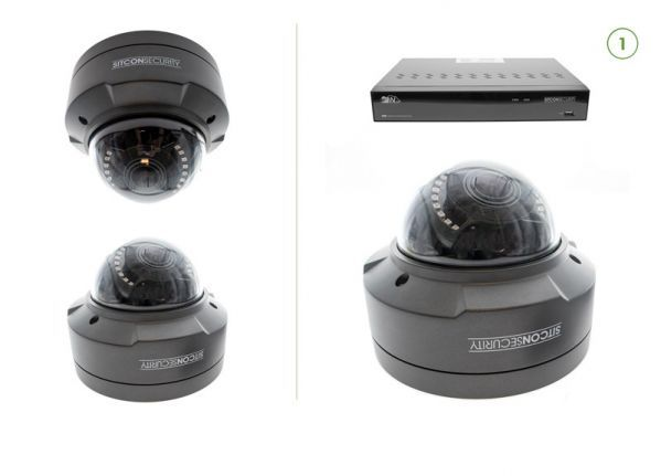 Dome security camera set SMART 1