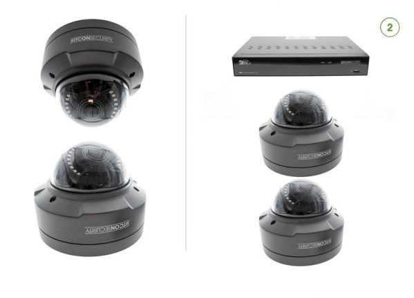 Dome security camera set SMART 2