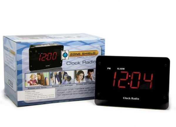 Alarm clock radio spy camera ELITE