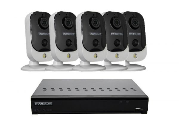 Cube security camera set EASY 5
