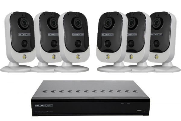 Cube security camera set EASY 6