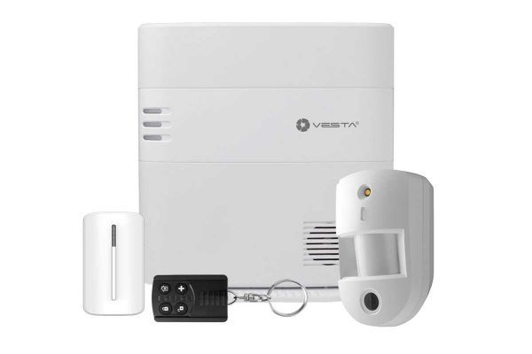 Wireless alarm system with PIR camera ELITE