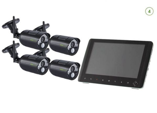 Wireless camera set with screen EASY 4