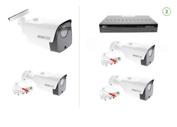 Bullet security camera set SMART 2