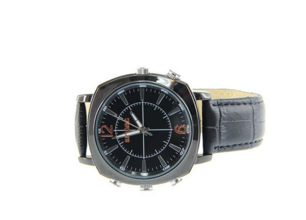 Watch spycam - Leather 2