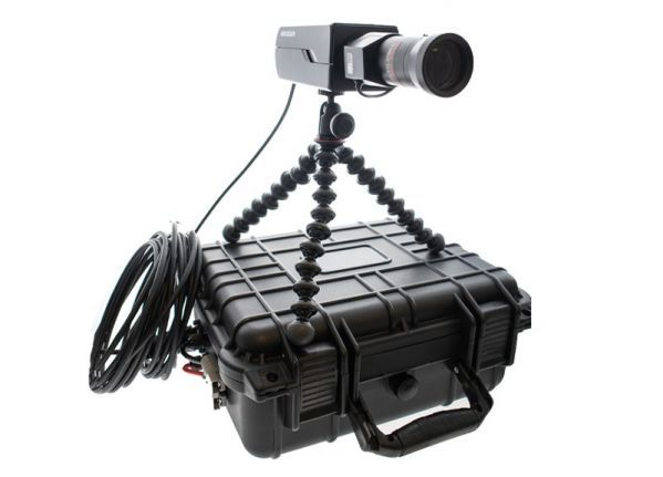 Mobile camera set - Box + zoom lens