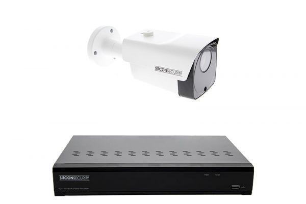 Bullet security camera set PLUS 16