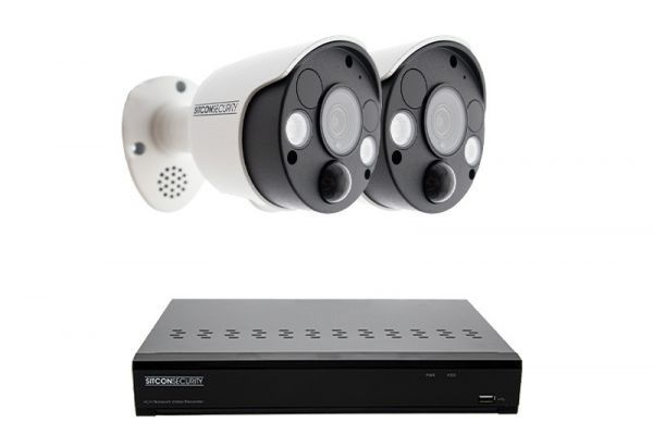 Shock lamp security camera set SMART 2
