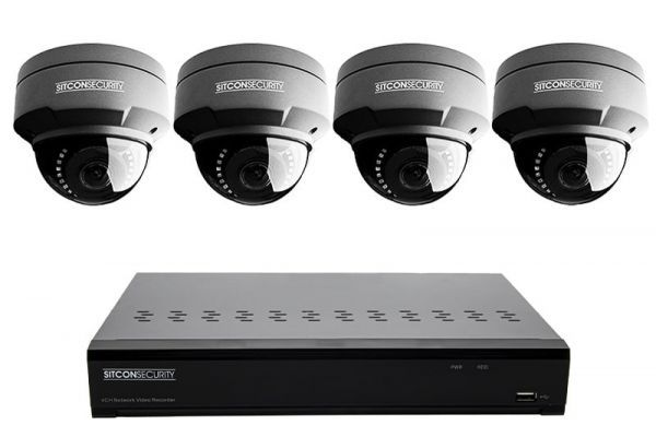 Dome security camera set SMART 4
