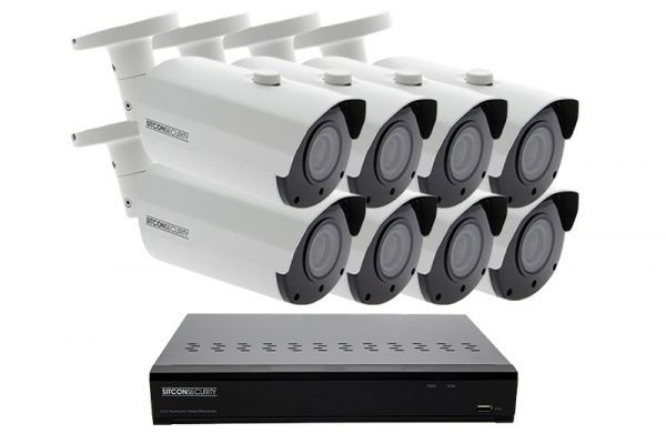 Bullet security camera set ELITE 8