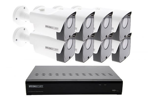 Bullet security camera set SMART 8