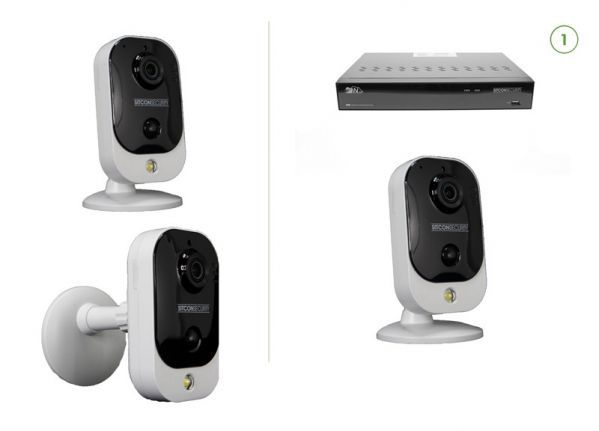 Cube security camera set EASY 1