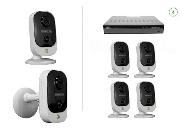 Cube security camera set EASY 4