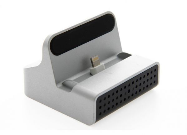 Docking station Wi-Fi spy camera - iPhone
