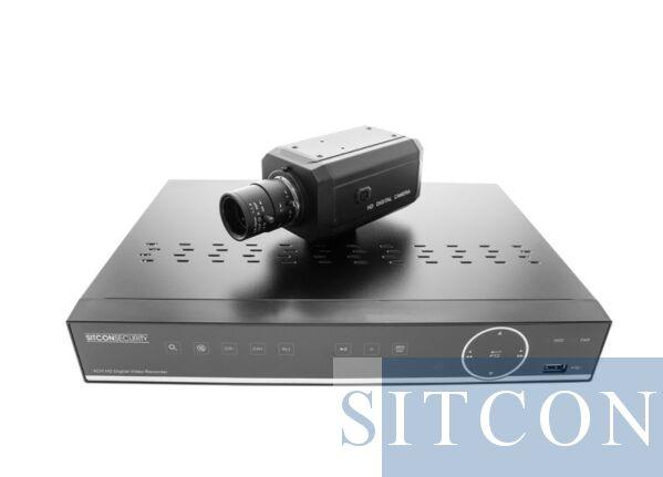 Box camera set - raambevestiging