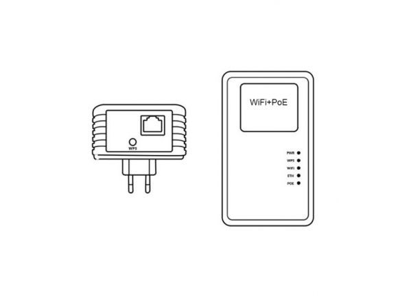 SCS-300MP - Wi-Fi receiver with POE