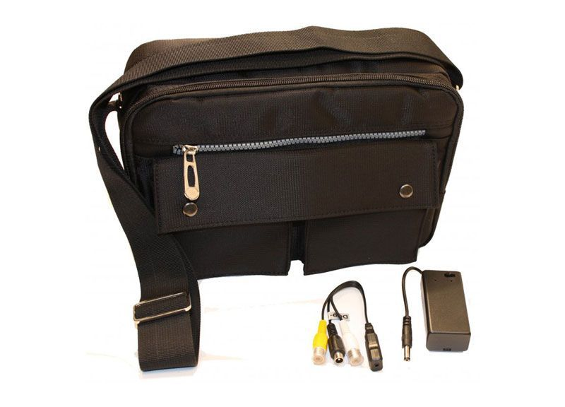 Bag spy camera set - Pro