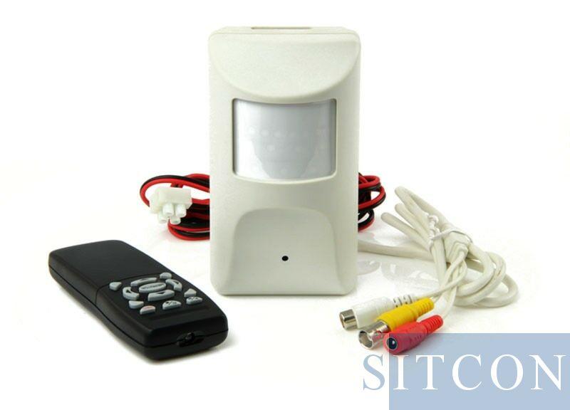 PIR spy camera - DVR
