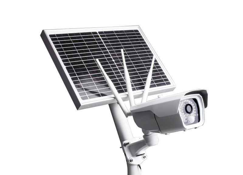 4G Outdoor camera with solar panel