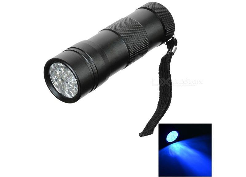 UV Flashlight - 12 Led